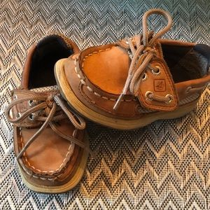 Sperry Top Sider toddler boy boat shoes 5.5